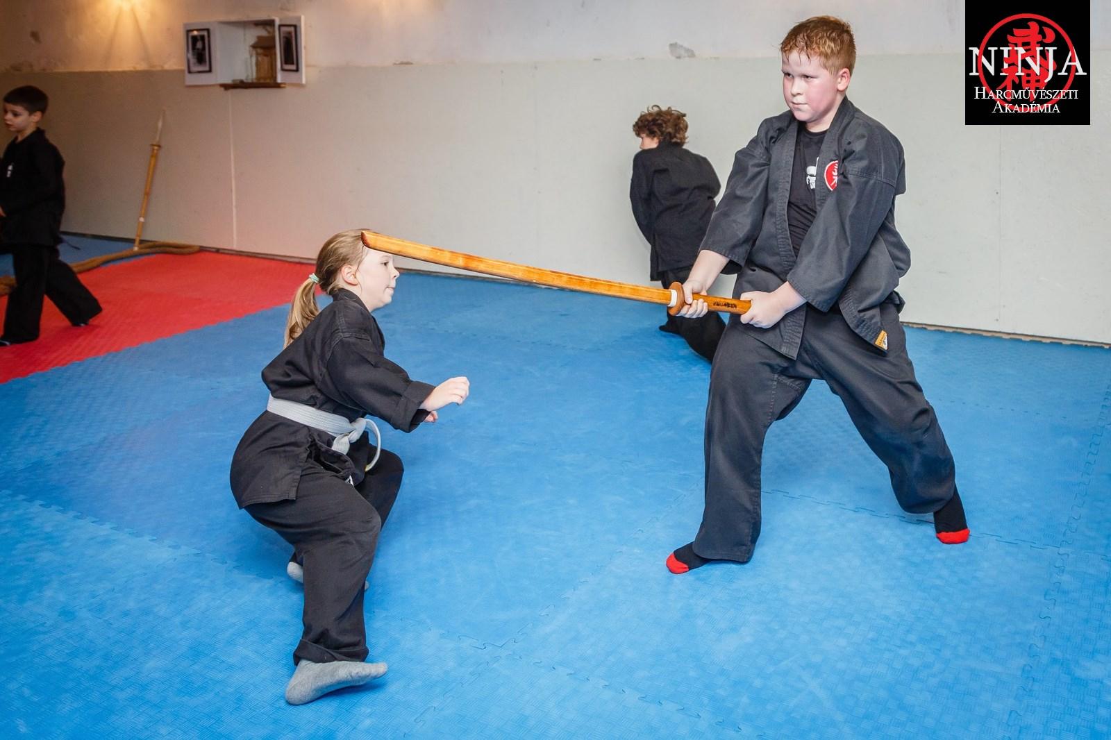 Kölyök Ninja Övvizsga 2014 4