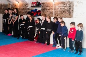 Ninja gyerekedzés - sorakozó