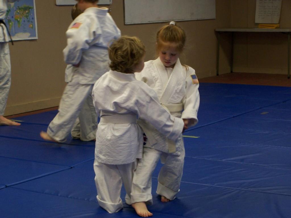 Judo gyerekedzés